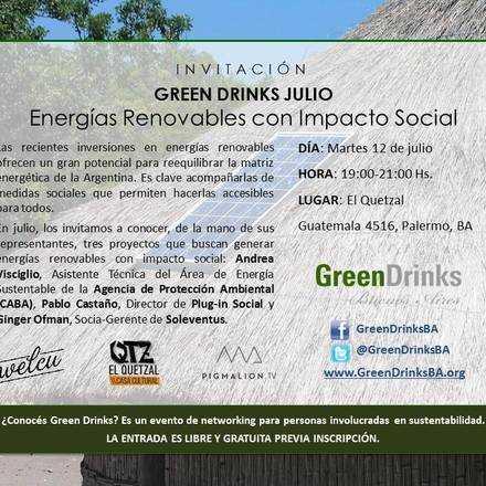 Green Drinks Buenos Aires 12-7 / Energías Renovables con Impacto Social