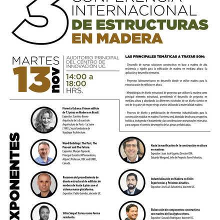 Tercera Conferencia Internacional de Estructuras en Madera