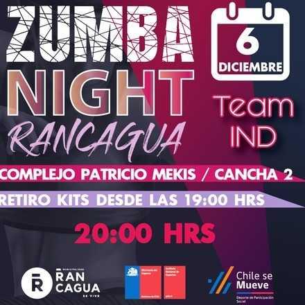 Night Zumba Mindep 2019