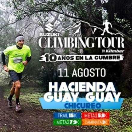 Climbing Tour 4a Fecha 2018. 11 de Agosto