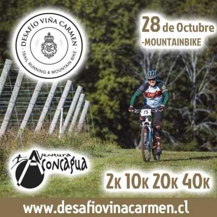Desafío Viña Carmen - Mountainbike 28 de Octubre 2018