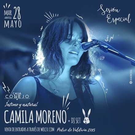 Camila Moreno en Casa Conejo