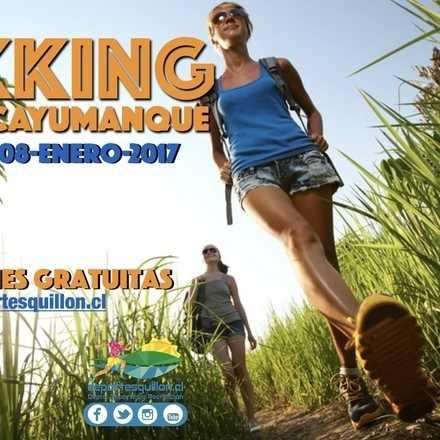 Trekking al Cerro Cayumanque, Quillón 2017