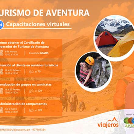 Capacitaciones en Turismo Especializado