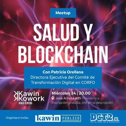 Salud y Blockchain, con Patricia Orellana
