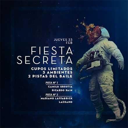 Jueves 23.02 Fiesta Secreta - Puerto Montt