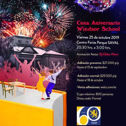Cena 60 Aniversario Windsor School