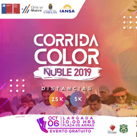 Corrida Color Ñuble