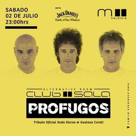 PROFUGOS - Tributo a soda stereo & Gustavo Cerati
