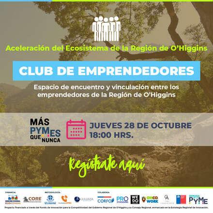 Lanzamiento Club de Emprendedores