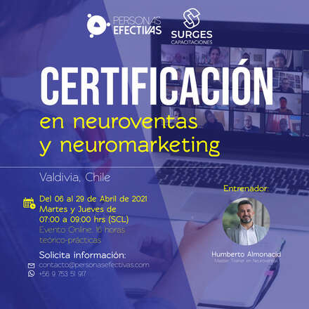 Certificación en Neuromarketing y Neuroventas