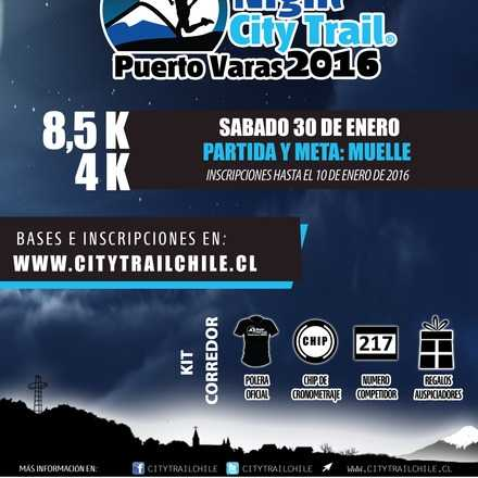 NIGHT CITY TRAIL PUERTO VARAS 2016