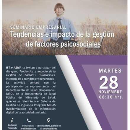 Seminario Empresarial: Tendencias e impacto de la gestión de factores psicosociales.