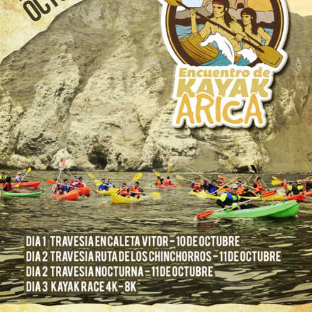 Encuentro De Kayak Arica