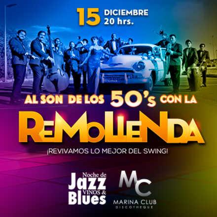 9° Noche de Jazz vinos & blues con La Remolienda