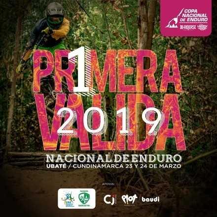 Primera válida Copa Nacional de Enduro 2019