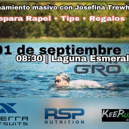 Entrenamiento Aguas Abiertas Laguna Esmeralda