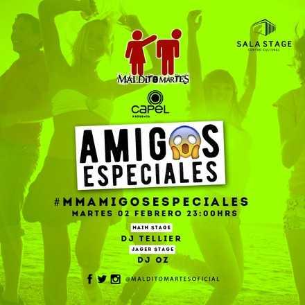 Maldito Martes ♡ Amigos Especiales ♀♂ 02/02/2016