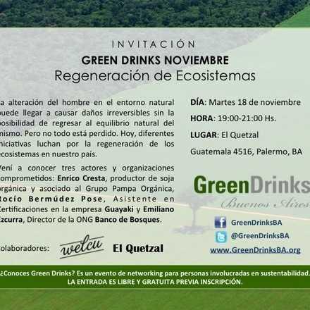 Green Drinks Buenos Aires / Regeneración de Ecosistemas