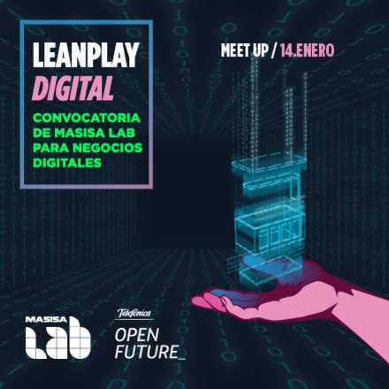 Meetup convocatoria Leanplay Digital
