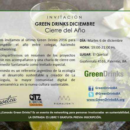 Green Drinks Buenos Aires 6-12 / Cierre del Año