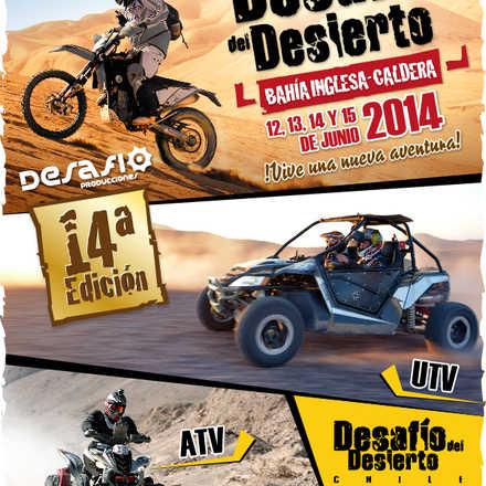 Desafio del Desierto Chile 2014
