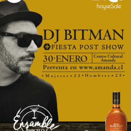 RON BARCELO PRESENTA: DJ BITMAN + FIESTA POST SHOW.