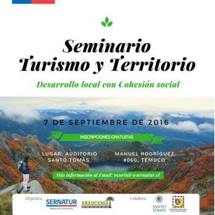 Seminario Turismo y Territorio: Desarrollo Local con Cohesión Social