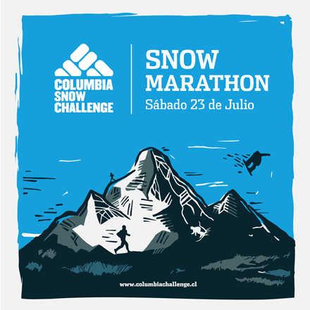 SNOW MARATHON - Columbia Snow Challenge 2016