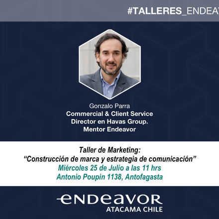 Taller de Marketing: Construcción de marca y estrategia de comunicación