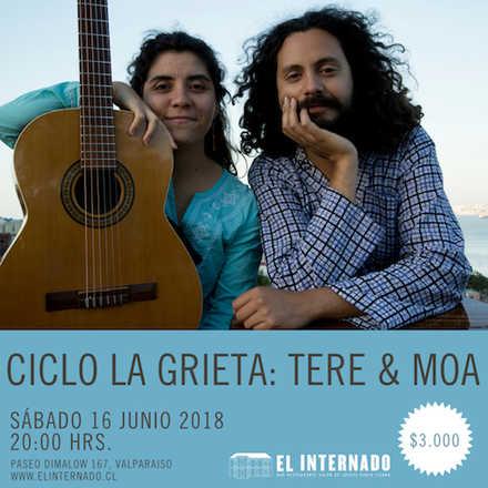 Ciclo La Grieta – Tere & Moa