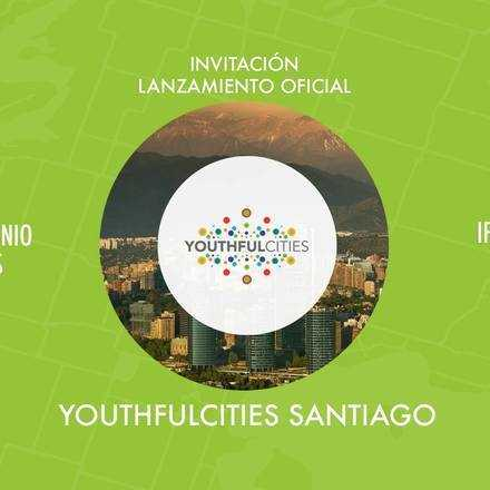 Lanzamiento YouthfulCities Santiago