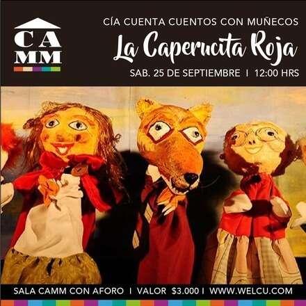 """Show de títeres  """"La caperucita roja"""""""