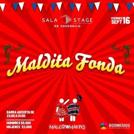 Maldita Fonda en Sala Stage