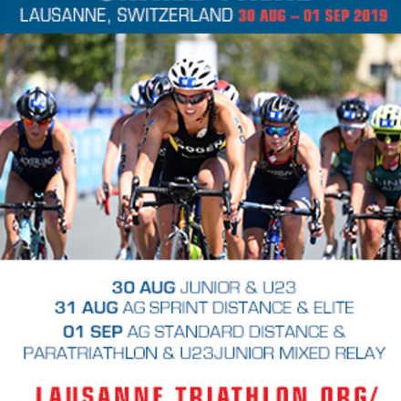 Mundial de Triatlón Por Categorías Lausanne