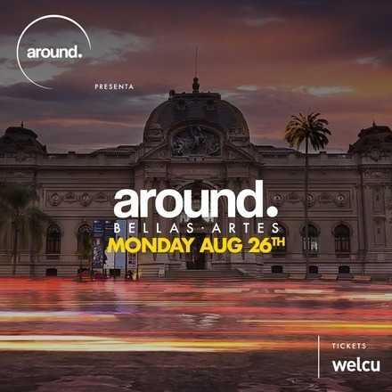 around Bellas Artes / Lunes 26 de Agosto