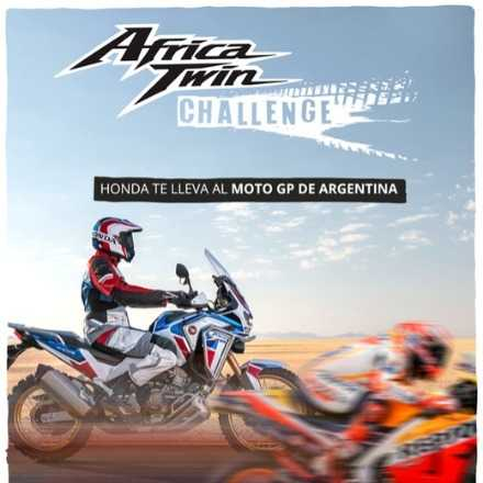 Lanzamiento Africa Twin Challenge