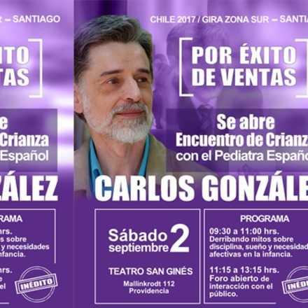 Encuentro con Dr. Carlos González en Chile 2017 - Santiago