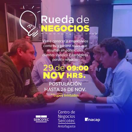 RUEDA DE NEGOCIOS NOV 2019