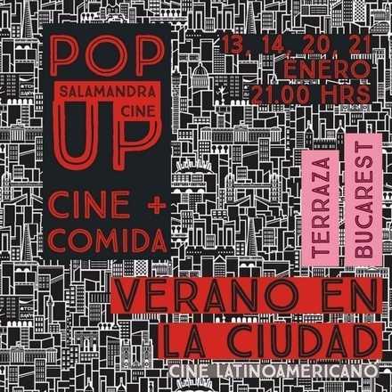 Pop Up Cine Latinoamericano + Gastronomía