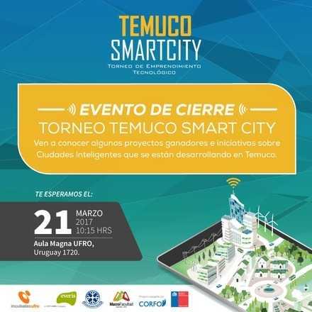 Ceremonia de Cierre Torneo Temuco SmartCity