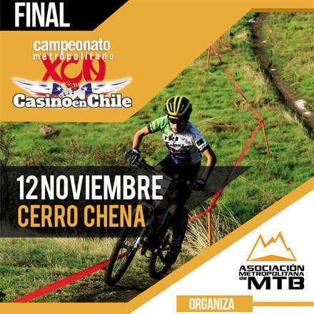 FINAL Campeonato Metropolitano de XCO.