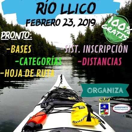 6ta versión BAJADA EN KAYAK RIO LLICO 2019