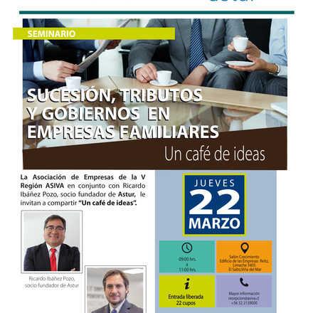 Seminario: sucesión, tributos y gobierno en empresas familiares.
