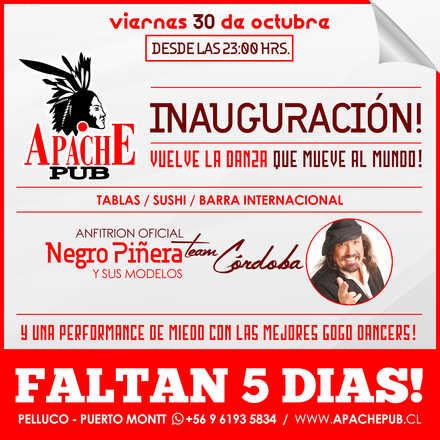Inauguración Apache Pub Puerto Montt