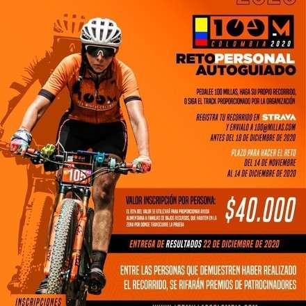 100 millas Colombia 2020