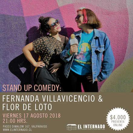 Stand Up Comedy: Fernanda Villavicencio & Flor de Loto
