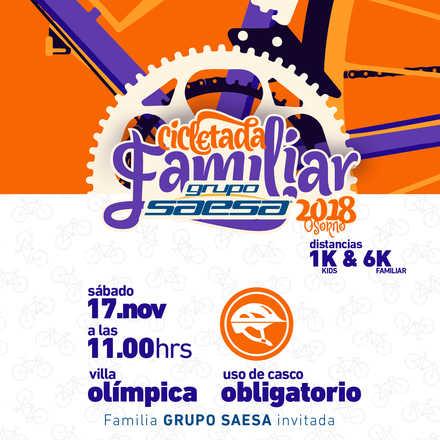 Cicletada Familiar Grupo SAESA Osorno