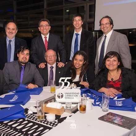 Cena Asociación de Egresados UC Temuco