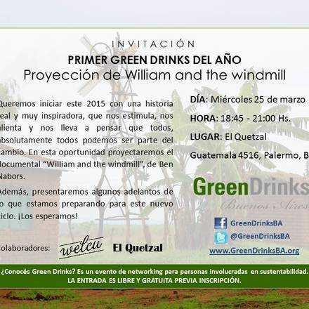 Green Drinks Buenos Aires / Proyección inspiradora